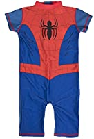 Boys Character Swimsuits With UV Sun Protection Spiderman 18-24