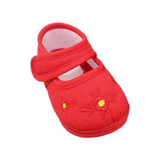 Xiangze Zapatos de deporte de algodon de bebe-suave