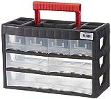 Viso 3/11 Aufbewahrungsbox/Werkzeugkiste, aus Kunststoff, mit 7Schubladen, Griff und Abtrennungen