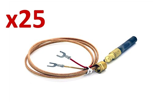 25x-2-wire-thermopile-thermocouple-fits-imperial-lincat-fage-pitco-part-r-21436