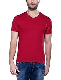 Maniac Men's Half Sleeve V-Neck T-Shirt