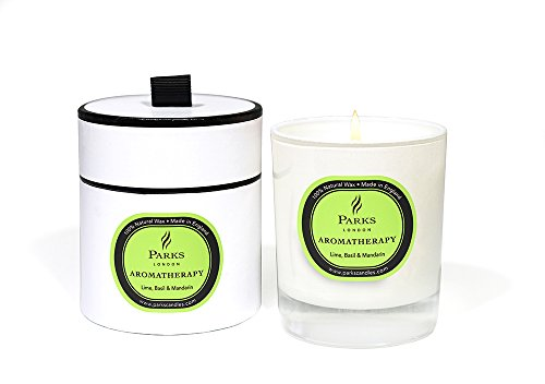 Basilikum Soja-kerze (Kerzen Aromatherapie, Aroma Lime Basilikum Mandarine)