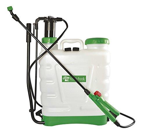 VERDELOOK, Pompa A Spalla Zaino per Irrorazione in Pvc da 16 litri