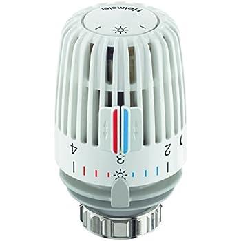 HEIMEIER Thermostat-Kopf K weiß, mit Nullstellung