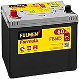Fulmen - Batería para coche FB605 12V 60Ah 390A - Batería(s)