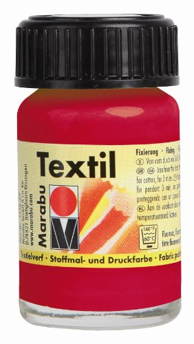 Preisvergleich Produktbild Marabu 031 15 ml Textil Paint,  Kirsche Rot
