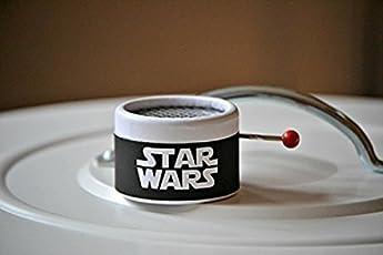 MANUELLE SPIELUHR * STAR WARS * , MIT DER MELODIE DER BERÜHMTEN SAGA. Ideal als Geschenk für die Fans. Musik Box