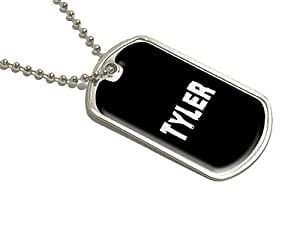 Tyler–Nom militaire Dog Tag bagages Porte-clés