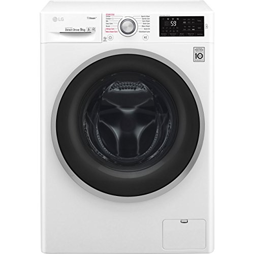 LG F4J6VY1W Rated Freestanding Washing Machine - White