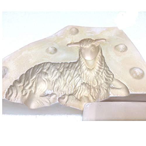 Forme per pecorelle pasquali in Gesso Varie Misure (100 gr)