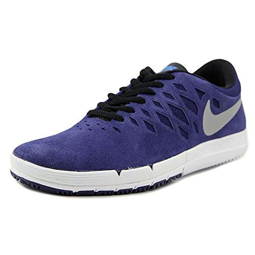 Nike Free SB Synthétique Baskets Deep Royal Blue-Metallic Silver-White
