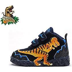 Dinosoles 3D T-Rex Dinosaurus Hi-Top Shoe (Children/Toddler/ Little kid)