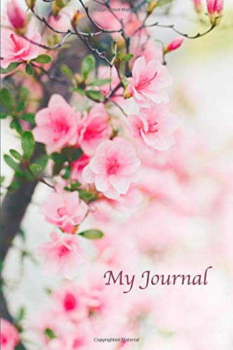 My Journal. Cherry Blossom Cover Design. Blank Journal Notebook Planner Diary. - Day And Works Beautiful Body Von Bath