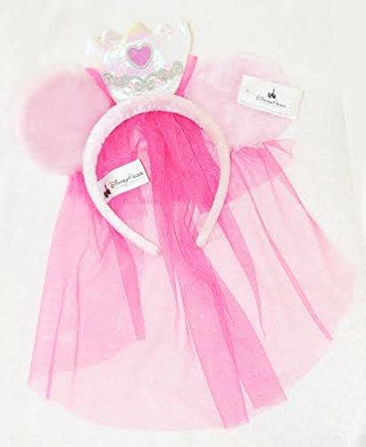 Authentischen - Disney-Stirnband hat - verschleiert Prinzessin Minnie Mouse Ohren (Ohren Disney Stirnband)