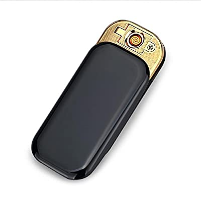 USB Electronic Cigarette Lighter, Highdas Fingerprint Touch Sensing Rechargeable Electronic Windproof Cigarette Lighter[Flameless Tungsten Without Fluid & Gas] from Highdas network technology Co., Ltd