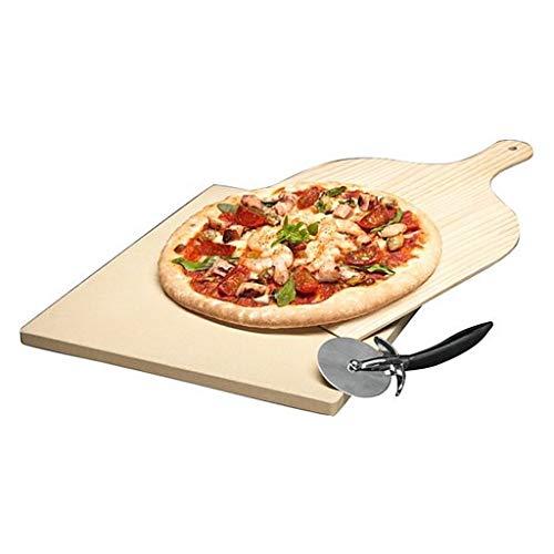 AEG A9OZPS1M Pizzastein Pizzaset Wärmerückhaltevermögen