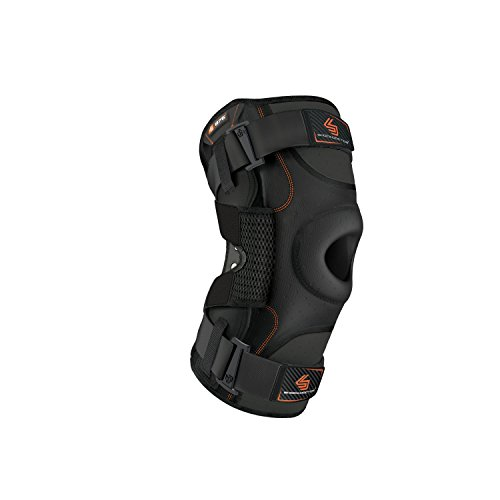 2a9d247200 Shock Doctor Men's Ultra Knee Support with Bilateral Hinges-Black, X-Large