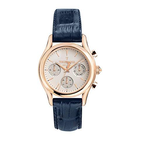 TRUSSARDI Reloj Multiesfera para Hombre de Cuarzo con Correa en Cuero R2451127001
