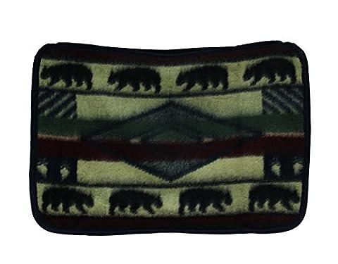 Yuma Bear Wildlife Plush Fleece Standard Pillow