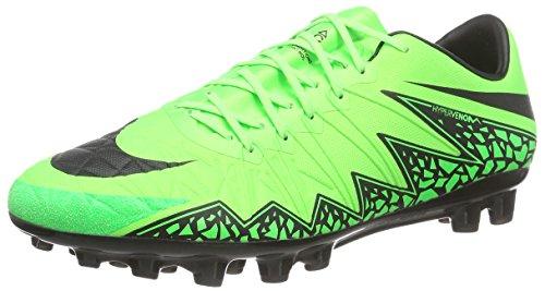 Nike Hypervenom Phinish AG-R Herren Fußballschuhe, Grün (Green Strike/Black-Volt), 45 (Nike Rooney Wayne)