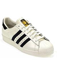 Adidas Schuhe Superstar 80s Herren footwear white-core black-gold metallic (BB2231) 41 1/3 weiss