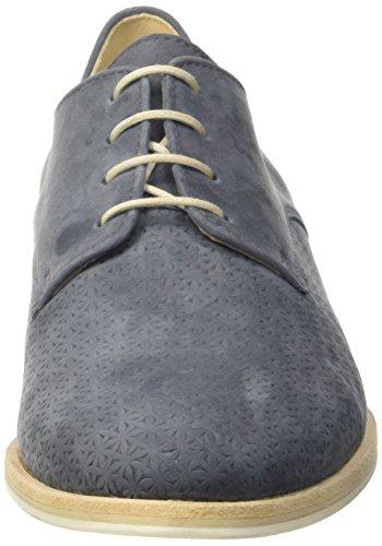 Gabor41-401-36 - Scarpe stringate Donna Blu (Bleu (River))