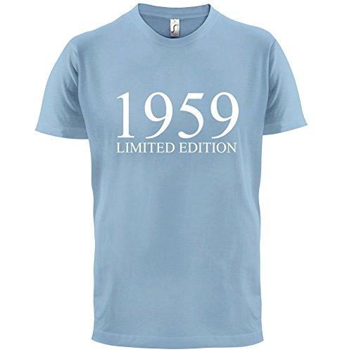 1959 Limierte Auflage / Limited Edition - 58. Geburtstag - Herren T-Shirt - 13 Farben Himmelblau