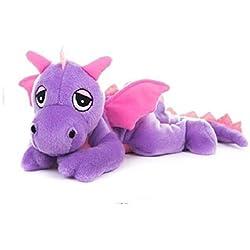 Habibi Plush de peluche Dragón Lila–Microondas