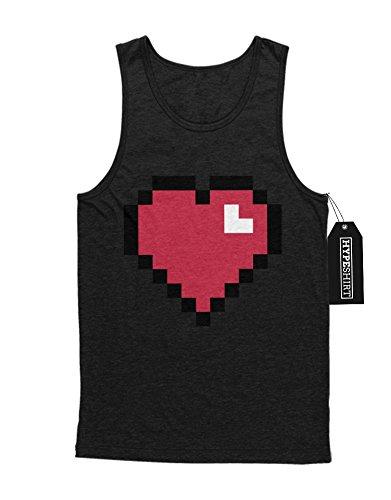 """Tank-Top Minecraft """"HEART"""" Z100054 Schwarz"""