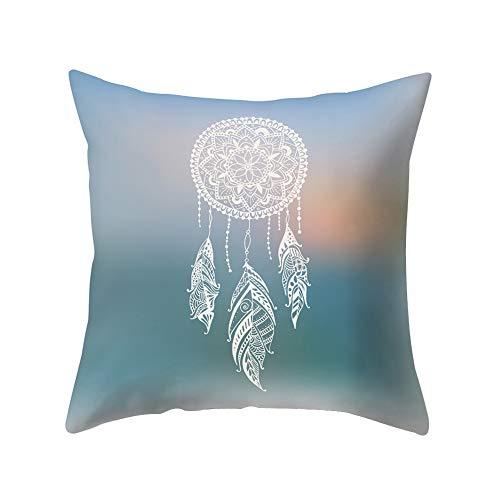 DarweirlueD Fancy Dreamcatcher - Funda de cojín para sofá, Cama, Coche, café, decoración