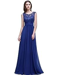 Abendkleider lang royalblau