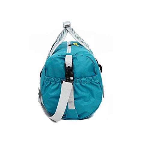 Ajew Leichter Faltbare Reise-Gepäck 20L Duffel Taschen Uebernachtung Taschen/ Sporttasche für Reisen Sport Gym Urlaub Rot