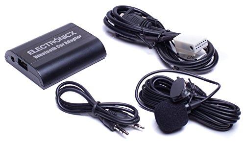Bluetooth Freisprechanlage, Bluetooth Musik Streaming Adapter für Originalradios inkl. AUX und USB-Ladebuchse BTA-VW12 - 510-usb Bluetooth