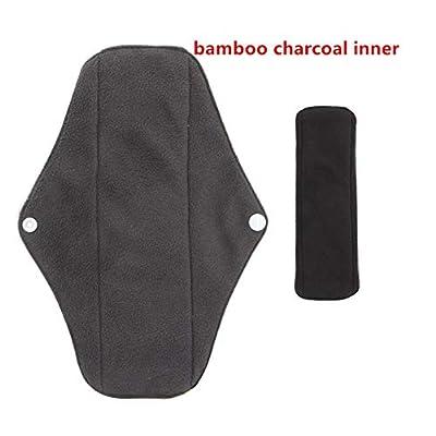FDBF Reusable Bamboo Charcoal Cloth Washable Leak-Proof Sanitary Napkin Towel Pad von FDBF - Gartenmöbel von Du und Dein Garten