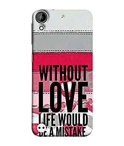 Fuson Designer Back Case Cover for HTC Desire 530 (Friend Boy Girl Male Female College School)