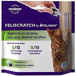 Ceva C72020E Feliscratch - 9 Pipetas de 5 ml