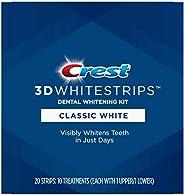 Crest 3D Whitestrips Classic White Teeth Whitening Kit - 10ct