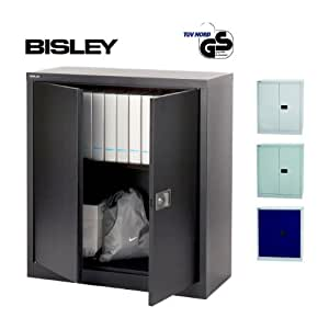 bisley aktenschrank werkzeugschrank fl gelt renschrank aus metall abschlie bar inkl. Black Bedroom Furniture Sets. Home Design Ideas