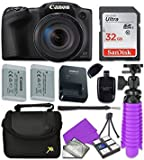 Best Selling Canon Black PowerShot SX420 + 32GB SD + Accessory Bundle be sure to Order Now
