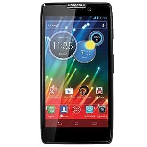 Motorola LGD802.A6DEBK RAZR HD Smartphone (11,9 cm (4,7 Zoll) AMOLED Gorilla-Glas Touchscreen, 1,5GHz Snapdragon S4 Prozessor, 12GB interner Speicher, 8 Megapixel Kamera, Android 4.0)