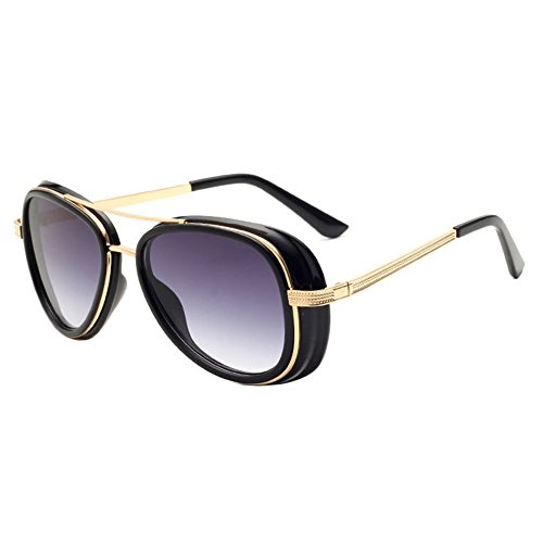 Highdas Bois Grain Glasses Fashion UV400 Homme Femme Lunettes de soleil Color 7 IwIJ9RBUbt