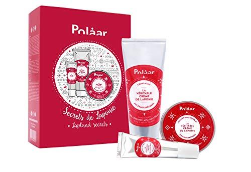 Polaar - Coffret Secrets De Laponie - Mains, Visage + Baume Lèvres Offert - Répare, Nourrit, Protège