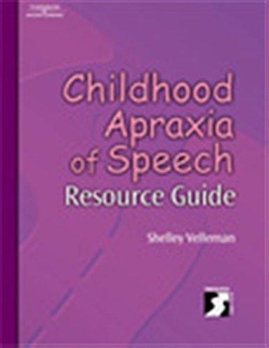 Childhood Apraxia of Speech Resource Guide (Singular Resourse Guide)