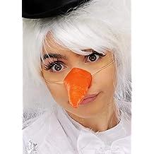 Delights Muñeco de Nieve de Navidad, la Nariz de Zanahoria en el elástico