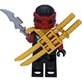 LEGO Ninjago: Minifigur Nya Skybound mit Ninja Doppelklingenschwert - 5