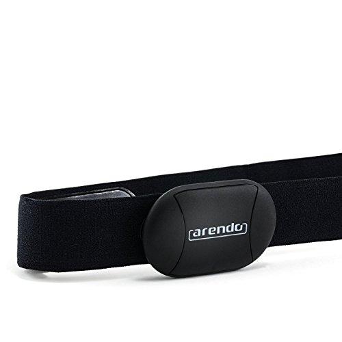 Arendo - Herzfrequenzgurt/Pulsmonitor | Brustgurt | Transmitter mit Bluetooth Smart 4.0 | Kompatibel mit Apple Produkte | mit App i-gotU Sports auf vielen Android Geräten Marke: CSL-Computer