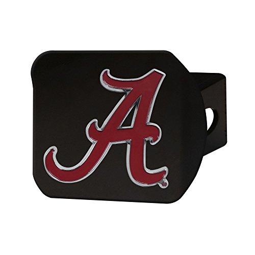 FANMATS NCAA Herren Abdeckung für Anhängerkupplung, mit farbigem Emblem, Schwarz, Herren, Black Hitch Cover with Color Emblem, schwarz, Einheitsgröße -