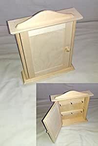 Wooden Key Cabinet/ Wall Key Box - 20cmx6cmx29.5cm