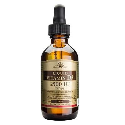 Solgar Liquid Vitamin D3 2500iu - 59ml by Solgar Vitamins and Herbs