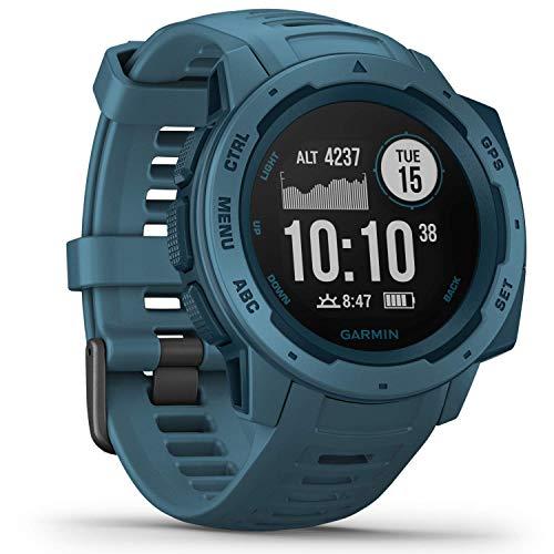 Garmin Instinct Reloj Inteligente Azul GPS (satélite) - Relojes Inteligentes (GPS (satélite)